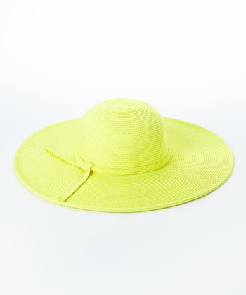 Jeanne Simmons Accessories Yellow Sunhat