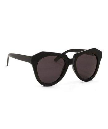 A.J. Morgan Black Cookie Sunglasses