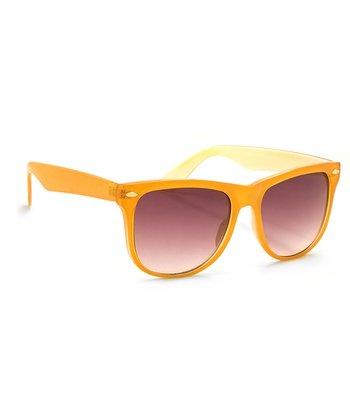 A.J. Morgan Orange Iced Sunglasses