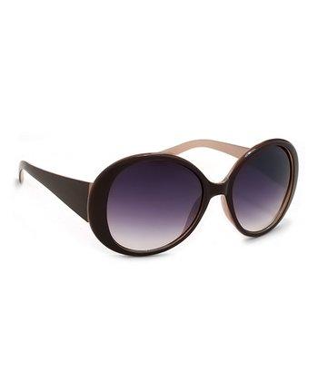 A.J. Morgan Brown Mango Sunglasses