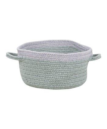 Light Gray & Iris Hableland Utility Basket