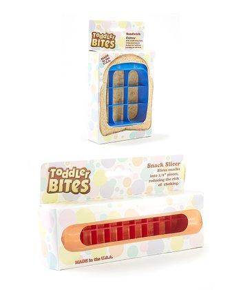 ToddlerBites Hot Dog & Sandwich Cutter Set