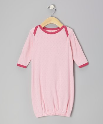 Pink & Fuchsia Organic Gown - Infant
