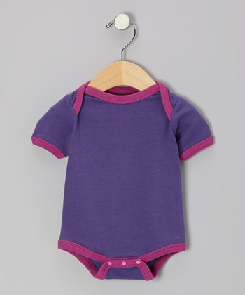 Plum & Purple Organic Bodysuit