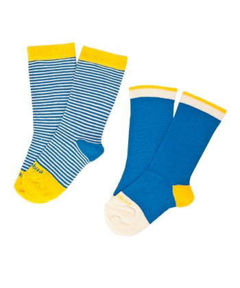 Parliament Blue Sailor Stripe Sock Set