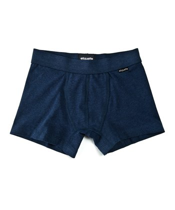 Eclipse Blue Organic Boxer Briefs - Boys