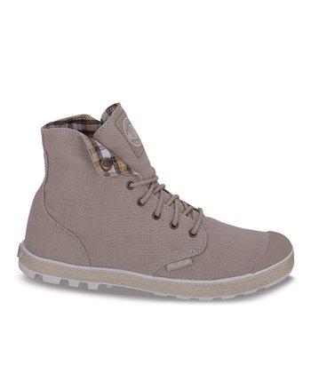 Palladium Safari & Off-White Slim Boot