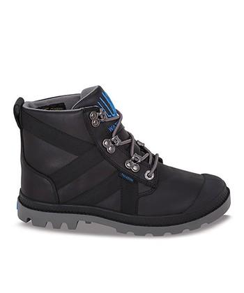 Palladium Black Pampa Thermal Leather Boot