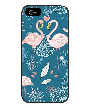 Blue Flamingo Case for iPhone 5/5s