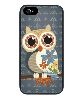 Tan Owl Case for iPhone 5/5s