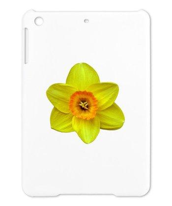 Yellow Single Daffodil Case for iPad Mini