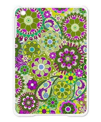 Purple & Green Floral Case for iPad Mini