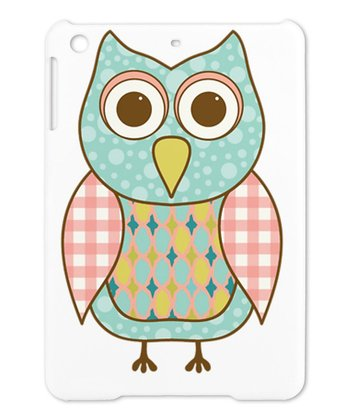 Pink & Aqua Owl Case for iPad Mini