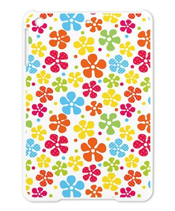 Yellow & Red Hippie Flowers Case for iPad Mini