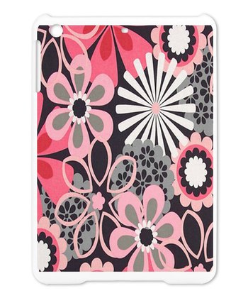 Pink & Black Hippie Floral Case for iPad Mini