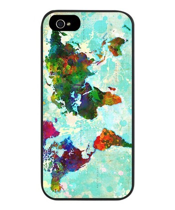 World Map Snap Case for iPhone 5/5s