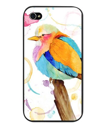 Lilac Breasted Roller Watercolor Snap Case for iPhone 4/4s