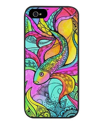 Pink & Blue Fish Case for iPhone 5/5s