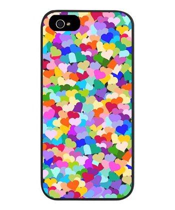 Rainbow Confetti Hearts Case for iPhone 5/5s