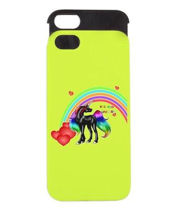 Rainbow Unicorn Wallet Case for iPhone 5/5s