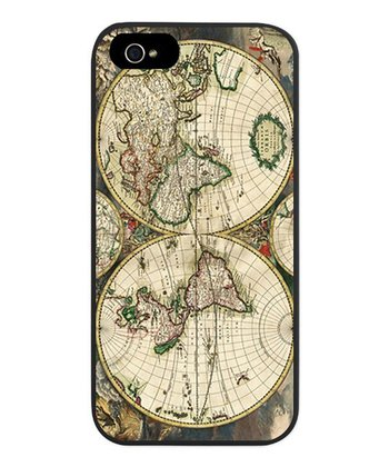 Antique World Map Case for iPhone 5/5s
