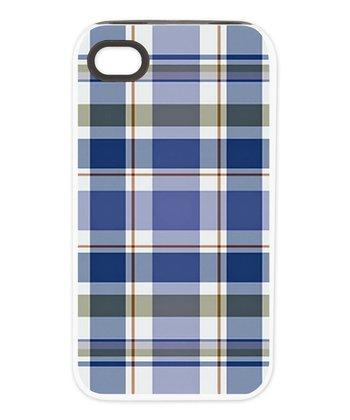 Blue Plaid Tough Case for iPhone 4/4s