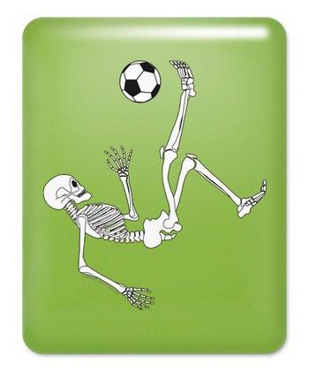 Key Lime Bicycle Kick Skeleton Case for iPad 1
