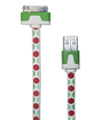Polka Dot 30-Pin iPhone/iPad Sync Cable