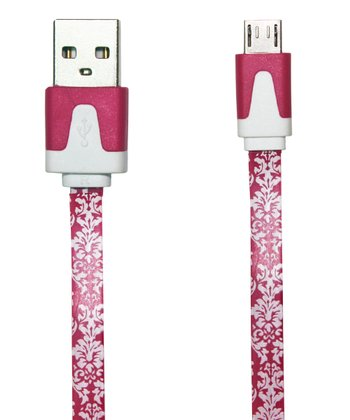 Damask Micro-USB Charging/Data Sync Cable