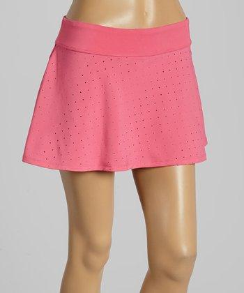 FILA Pink Shock Baseline Fashion Skirt - Women