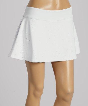 FILA White Baseline Fashion Skirt - Women