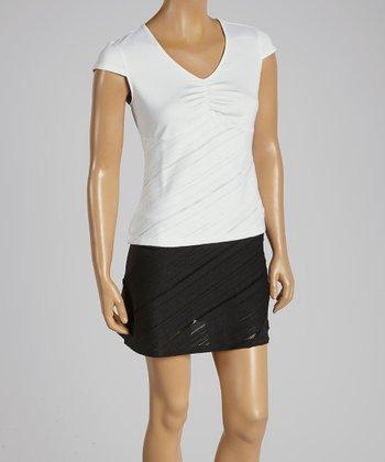 FILA White Collezione Cap Sleeve Top - Women