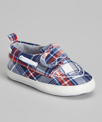 Joseph Allen Red Plaid Sneaker