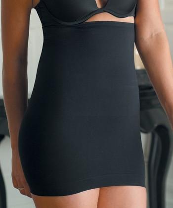 Black Shaper High-Waist Slip - Women & Plus
