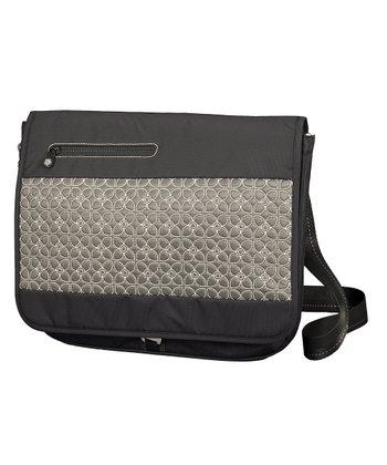 Sherpani Pewter Nyx Laptop Messenger Bag