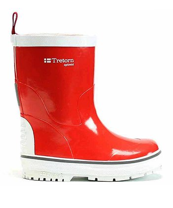 Red Optimist Rain Boot