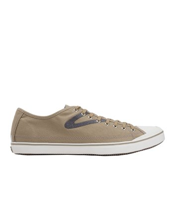 Dune Brown & Ombre Blue Skymra SL Canvas Sneaker - Women & Men