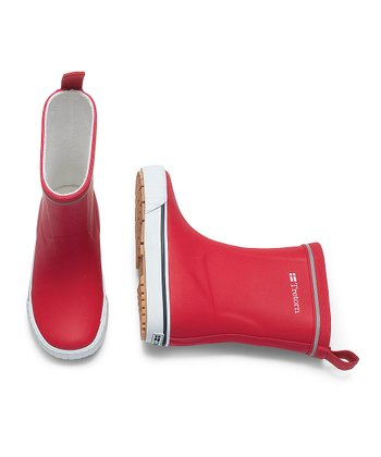Red Jolly Rain Boot