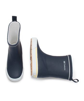 Navy Blue Jolly Rain Boot