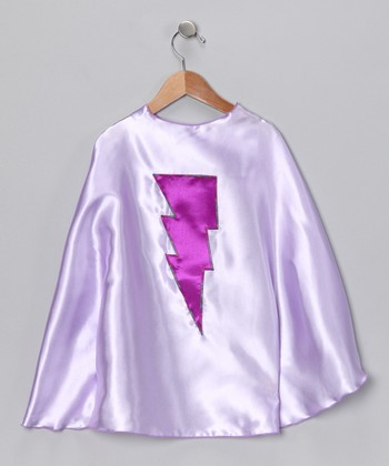 Light Purple & Orchid Lightning Cape