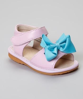 Laniecakes Light Pink Add-A-Bow Squeaker Sandal