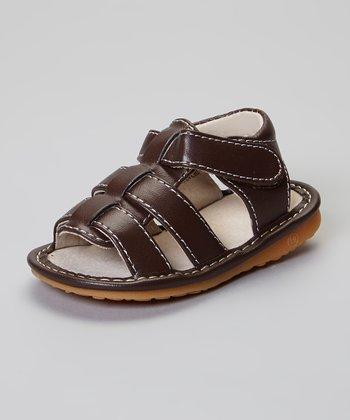 Laniecakes Brown Brycen Squeaker Sandals
