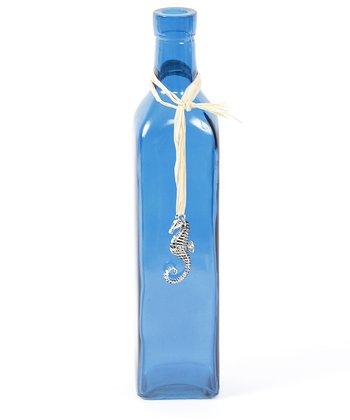 Blue Seahorse Pendant Bottle