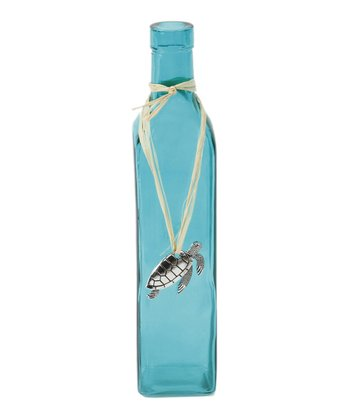 Blue Turtle Pendant Bottle