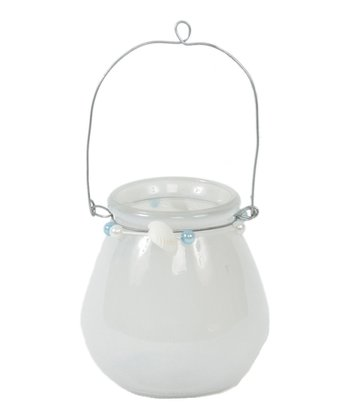 Clear Seashell Hanging Candleholder