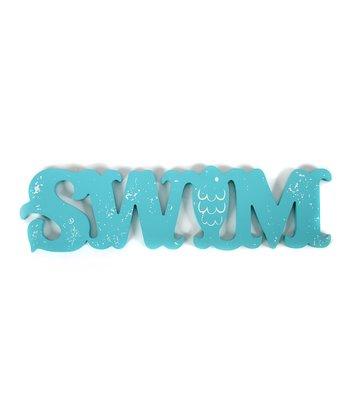 Fish 'Swim' Sign