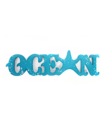 Starfish 'Ocean' Sign
