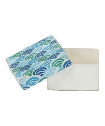 Ocean Wave Covered Box