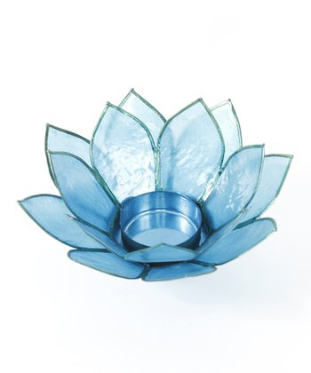 Blue Lotus Tealight Holder