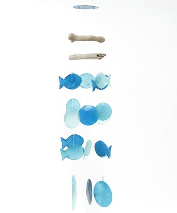 Aqua Fish Wind Chime